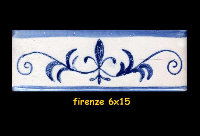Bordi listelli e greche decorate a manno per cucina for Greche decorative per cucina